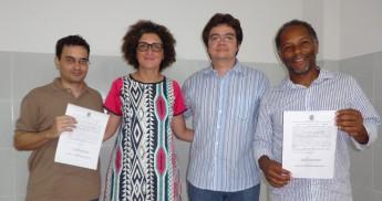 Profº. Júlio César; Diretora do campus: profª. Ludmylla Lima; Vice-reitor: Aristeu Pontes Lima; Profº.: Acássio Sidney Santos