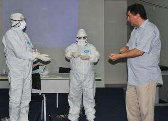 Diretor geral do Hospital São José, Roberto da Justa Pires Neto, mediou o treinamento.