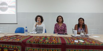Ludmylla Mendes; Leila Machado; e Úrsula Flávia
