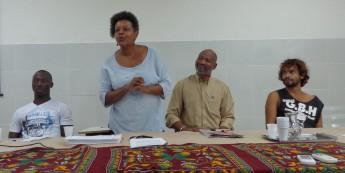 Calido Mango; Matilde Ribeiro; Samuel Azevedo; e Marcelo Lenz