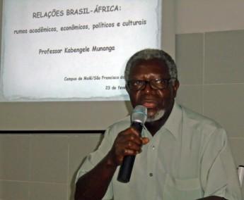 Professor Kabengele Munanga