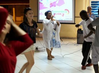 Show musical do Bloco de Afoxé Acabaca na Unilab