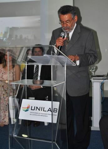 Novo reitor da Unilab: Tomaz Mota Santos
