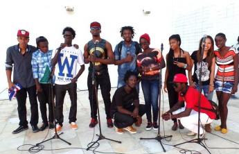 Grupo de Rap da Unilab.