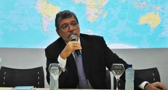 Embaixador do Brasil em São Tomé e Príncipe, José Carlos de Araújo Leitão proferiu palestra na Unilab.