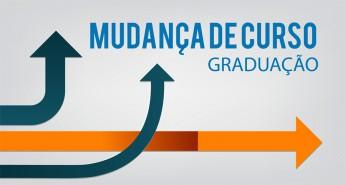 DESTAQUE MUDANÇA DE CURSO