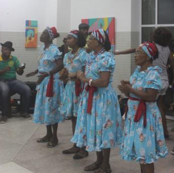 Apresentação cultural de Samba Chula / Crédito: Ira Santos