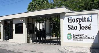 Fachada do Hospital São José de Doenças Infecciosas.