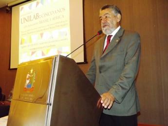Reitor da Unilab, professor Tomaz Aroldo Santos