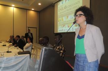 Diretora do Campus dos Malês, professora Ludmylla Mendes