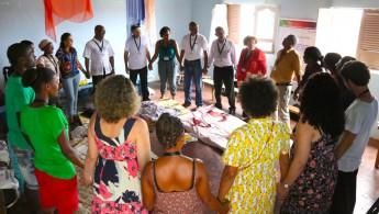 Oficina em Cabo Verde do projeto Universidade Popular de Movimentos Sociais (UPMS)