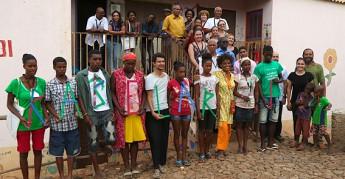 Oficina em Cabo Verde do projeto Universidade Popular de Movimentos Sociais (UPMS)_