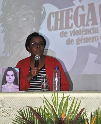Professora Regina Célia Barbosa, vice-coordenadora do Instituto Maria da Penha