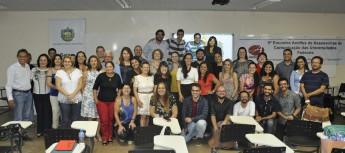 Comunicadores reunidos no 9º Encontro Andifes de Assessorias de Comunicação das Universidades Federais (Foto: Luena Barros - Ascom/Ufopa)
