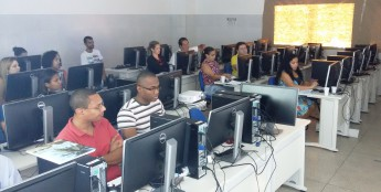 Servidores do Campus dos Malês na capacitação