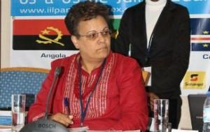 Marisa Mendonça, Diretora do Instituto Internacional da Língua Portuguesa (IILP).