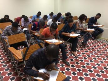 Estudantes angolanos fazem prova para ingresso na Unilab
