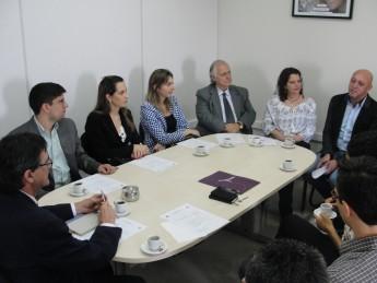 Reunião entre gestores da Unila e Unilab