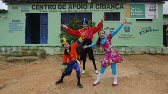Integrantes do Centro de Apoio à Criança