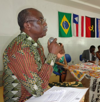 Diretor da Casa de Angola, Camilo Afonso