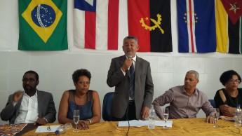 Reitor da Unilab em seu discurso