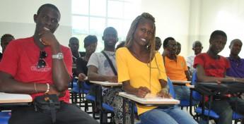 Estudantes da Unilab. Foto: Assecom/Unilab.