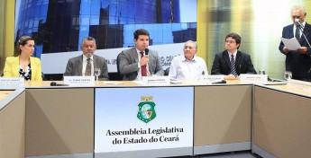 Audiência pública debate a construção e implantação de um hospital universitário para atender o novo curso de Medicina da Unilab. Foto: Marcos Moura.