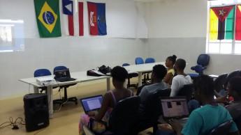 Abertura transmitida por videoconferência para o Campus dos Malês