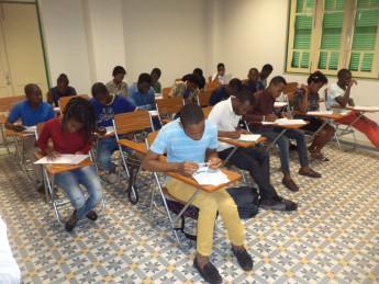 Prova para ingresso na Unilab é aplicada em Angola.