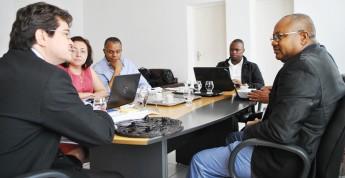 Reunião entre os representantes da Unilab e da UPN