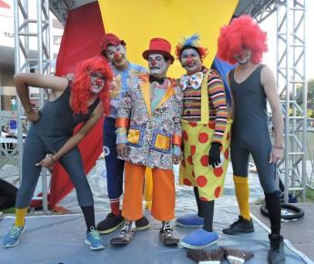 """Grupo """"Hoje tem Espetáculo!"""" homenageia palhaço Carequinha. Foto: divulgação."""