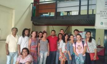 Participantes e organizadores da Oficina de Paleografia. Foto: Unilab.