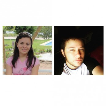 Os estudantes Nathália Colaço e Kaio Lemos, do curso de Bacharelado em Humanidades, foram selecionados para participar de seminário sobre gênero na Itália, em Turim. Fotos: acervo pessoal.