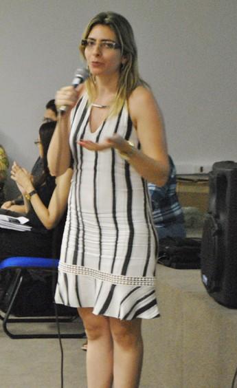 Pró-reitora de Extensão da Unilab, Profa. Rafaella Moreira.