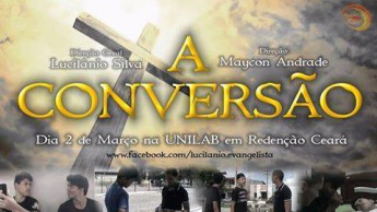Cartaz do filme A Conversão. Divulgação.