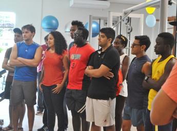 Estudantes selecionados para participar do projeto piloto.