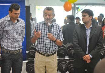 Da esquerda para a direita: Paulo Farias, Tomaz Santos e Alexandre Cunha.