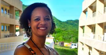 Professora da Unilab, Sueli Saraiva, foi agraciada com menção honrosa no Prêmio Fernão Mendes Pinto de 2014, divulgado no último dia 2 pela Associação das Universidades de Língua Portuguesa (Aulp). Foto: Assecom/Unilab.