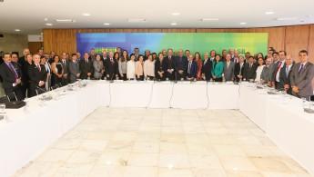 Brasília - DF, 11/03/2016. Presidenta Dilma Rousseff durante reunião com Reitores das Universidades Federais. Roberto Stuckert Filho/PR