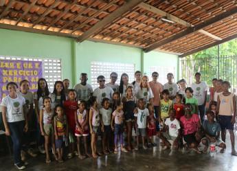 Plantio na comunidade quilombola de Água Preta.