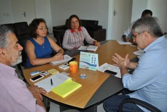 Representantes da Unilab e Nutec.