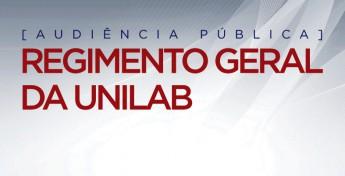REGIMENTO GERAL AUDIENCIA