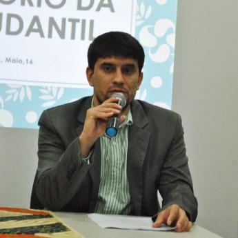 Pró-reitor de Políticas Afirmativas e Estudantis, Alexandre Cunha.