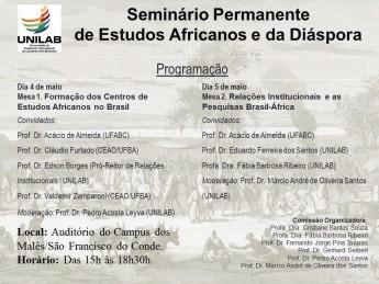 Cartaz Seminario Permanente de Estudos Africanos (1)