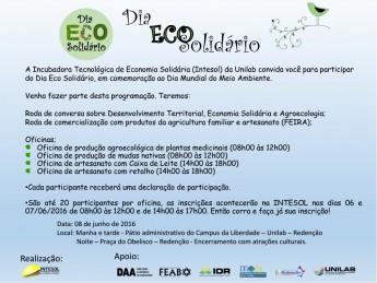 Cartaz Eco Solidario - atualizado