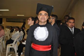O estudante George Cavalcante já é formado em História, concluiu o BHU e pretende fazer a terminalidade de Antropologia. Foto: Assecom/Unilab.