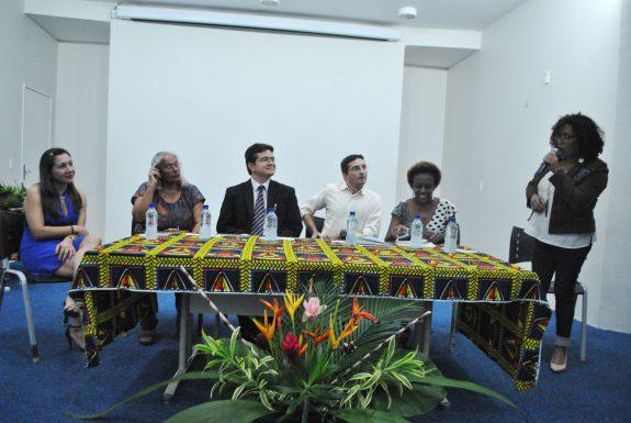 Solenidade de encerramento do Curso de Especialização em Política de Igualdade Racial no Ambiente Escolar Uniafro.