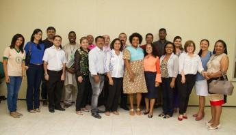 Representantes do Conselho Estadual de Promoção da Igualdade Racial (COEPIR).