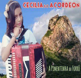 """Capa do CD """"A Pimentinha do forró""""."""