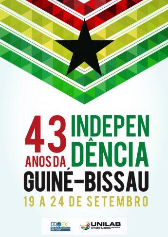 CARTAZ INDEPÊNDICIA DE GUINÉ BISSAU - 2016 - COM DATA